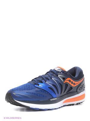 Кроссовки Saucony. Цвет: синий, оранжевый