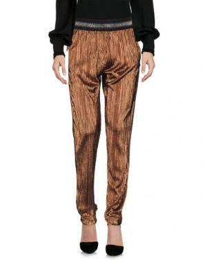 Повседневные брюки SOALLURE. Цвет: медный