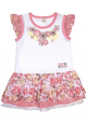 Платье Lucky child. Цвет: розовый (розовый)