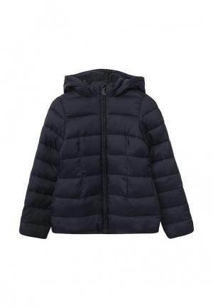 Куртка утепленная Petit Bateau. Цвет: синий