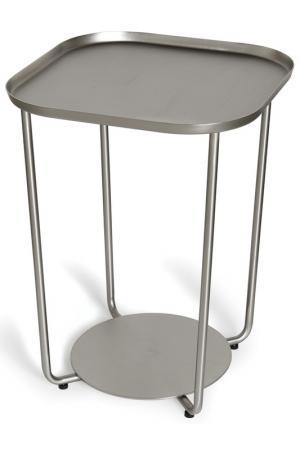 Приставной столик Annex UMBRA. Цвет: никель