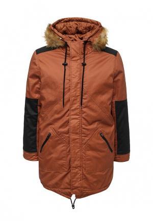 Куртка утепленная Top Secret. Цвет: оранжевый