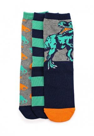 Комплект носков 3 пары Gap. Цвет: разноцветный