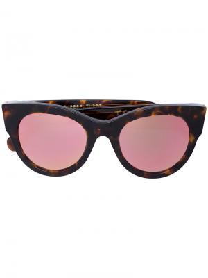 Солнцезащитные очки EVS Retrosuperfuture. Цвет: коричневый
