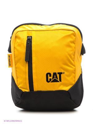 Сумка Caterpillar. Цвет: желтый, черный