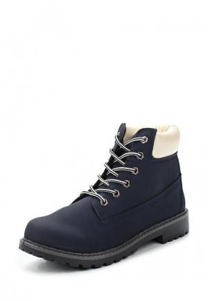 Ботинки Modis. Цвет: синий