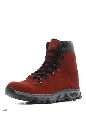 Ботинки Cooper. Цвет: красный