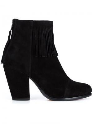 Ботинки Newbury с бахромой Rag & Bone. Цвет: чёрный