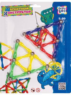 Магнитный конструктор Ромб Kribly Boo. Цвет: красный, желтый, зеленый, фиолетовый