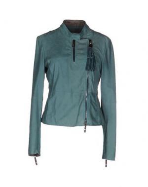 Куртка HENRY BEGUELIN. Цвет: зеленый