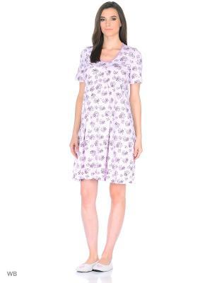 Ночная сорочка Nuova Vita. Цвет: лиловый