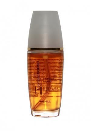 Блеск для волос Жидкие кристаллы Brelil Professional. Цвет: оранжевый