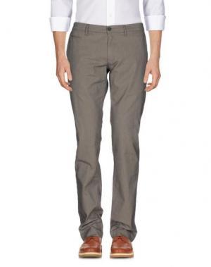 Повседневные брюки SIVIGLIA WHITE. Цвет: хаки