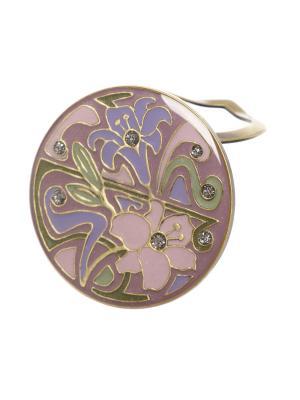 Зажим Clara Bijoux. Цвет: зеленый, розовый, фиолетовый