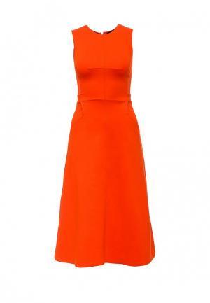 Платье French Connection. Цвет: оранжевый