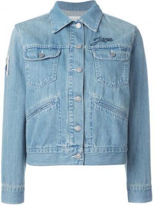 Куртка Purd Isabel Marant Étoile. Цвет: синий