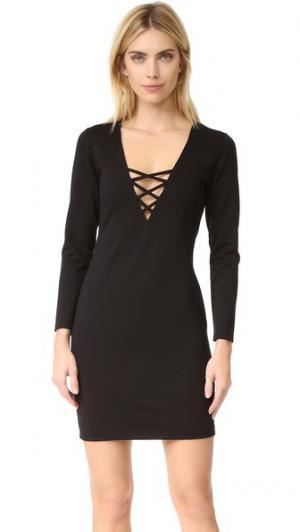 Платье Nox Amanda Uprichard. Цвет: power stretch