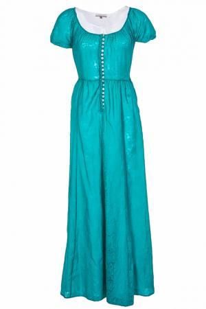 Платье Alter Ego. Цвет: зеленый