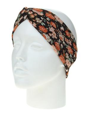 Повязка на голову Migura. Цвет: черный, зеленый, оранжевый