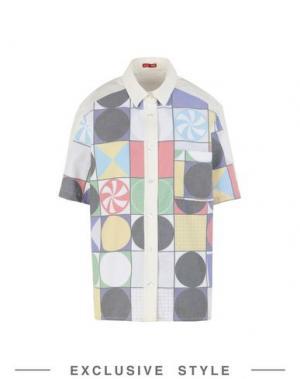 Pубашка ARTHUR ARBESSER x YOOX. Цвет: белый
