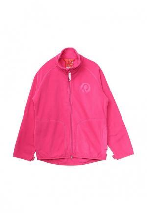 Олимпийка Reima. Цвет: розовый