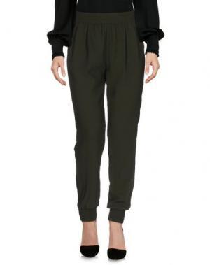 Повседневные брюки JOIE. Цвет: зеленый-милитари