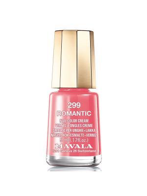 Лак для ногтей тон 299 Romantic Mavala. Цвет: розовый