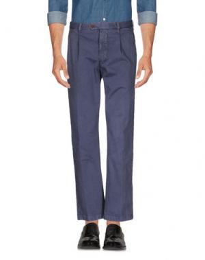 Повседневные брюки AVIO. Цвет: фиолетовый