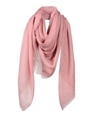 Платок JIL SANDER. Цвет: пастельно-розовый