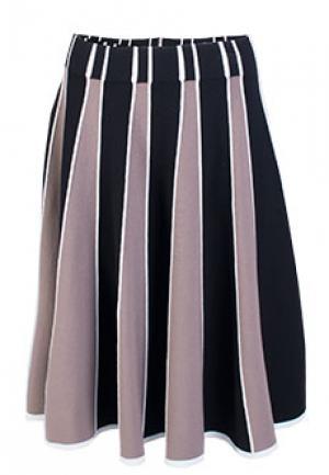 Юбка VIA TORRIANI 88. Цвет: коричневый