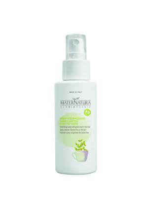 Флюид-спрей для объема тонких волос с зеленым чаем, 100мл Mater Natura. Цвет: прозрачный