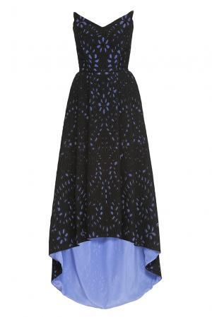 Платье из хлопка с шелком 162652 Izeta. Цвет: черный