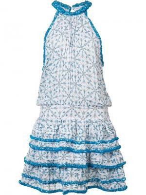 Платье Eva Poupette St Barth. Цвет: белый