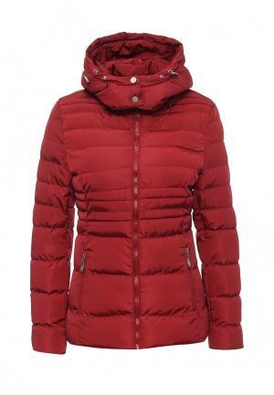 Куртка утепленная Adrixx. Цвет: бордовый