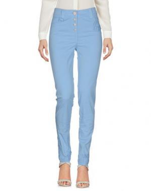 Повседневные брюки DANIELA DALLA VALLE ELISA CAVALETTI. Цвет: небесно-голубой