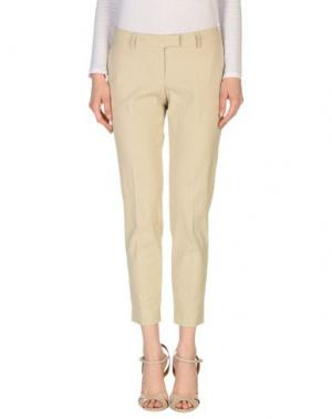 Повседневные брюки GOLD CASE. Цвет: бежевый