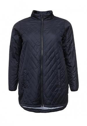 Куртка утепленная Zizzi. Цвет: синий