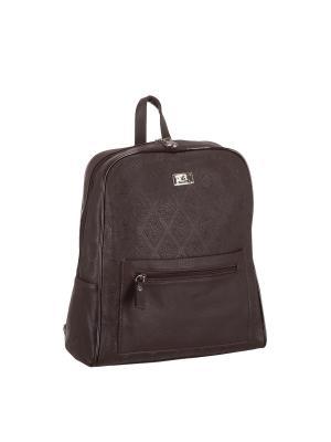 Рюкзак 5685 искусственная кожа Sofiya. Цвет: коричневый