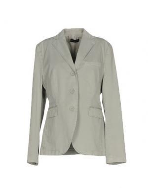 Пиджак CAPPELLINI by PESERICO. Цвет: светло-серый