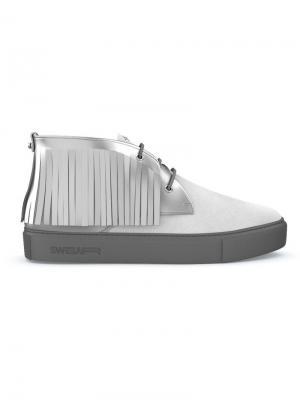 Кроссовки Maltby Swear. Цвет: белый