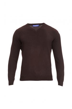 Кашемировый джемпер 160341 Blue Sky Cashmere. Цвет: коричневый