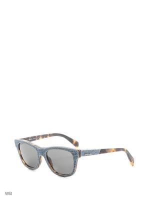 Солнцезащитные очки DL 0111 84B Diesel. Цвет: серый, коричневый, голубой