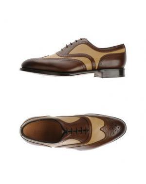 Обувь на шнурках EDWARD GREEN. Цвет: коричневый