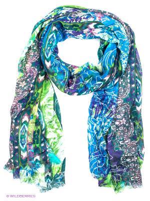 Палантин Eleganzza. Цвет: морская волна, зеленый, синий