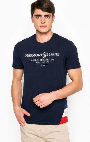 Футболка HarmontBlaine. Цвет: синий