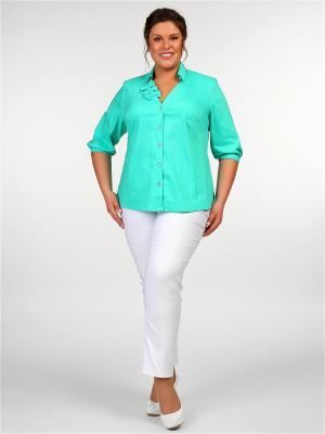 Блузки Silver-String. Цвет: зеленый