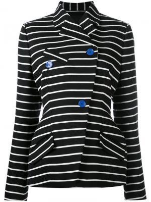 Striped blazer Proenza Schouler. Цвет: чёрный