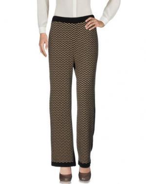 Повседневные брюки JEI O'. Цвет: песочный