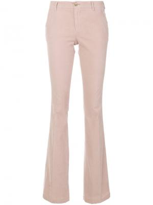Вельветовые брюки клеш Pt01. Цвет: розовый и фиолетовый
