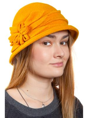 Шляпа Three S. Цвет: горчичный